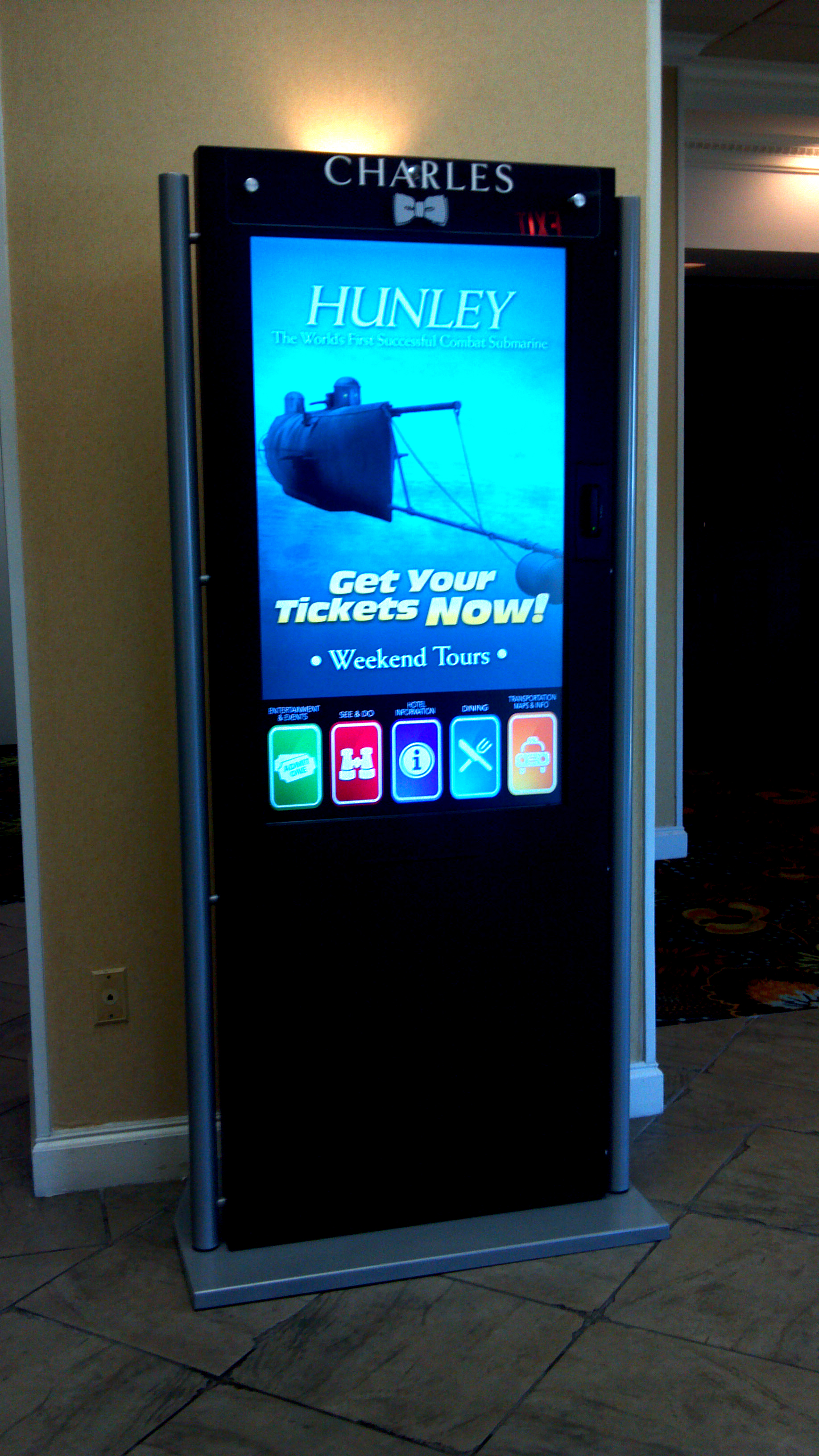 Acrylic Signs For Interactive Kiosks Spot On Graphix